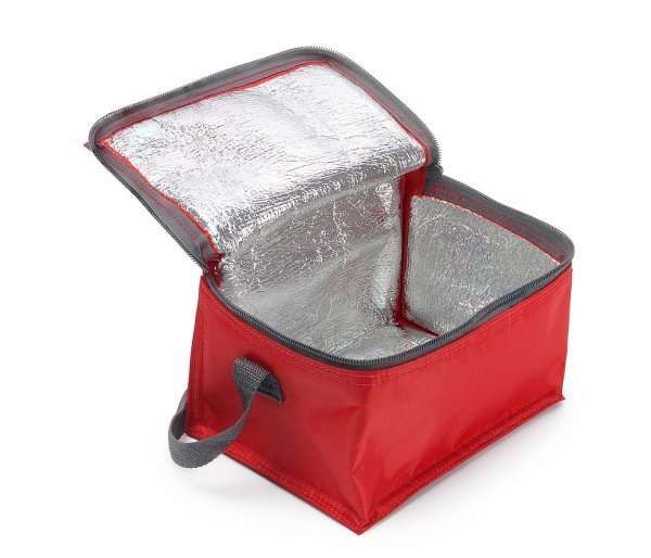 Torba termiczna z paskiem IGLO czerwony