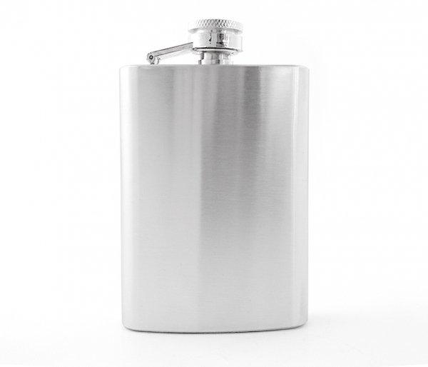 Piersiówka stalowa 120 ml 4 oz