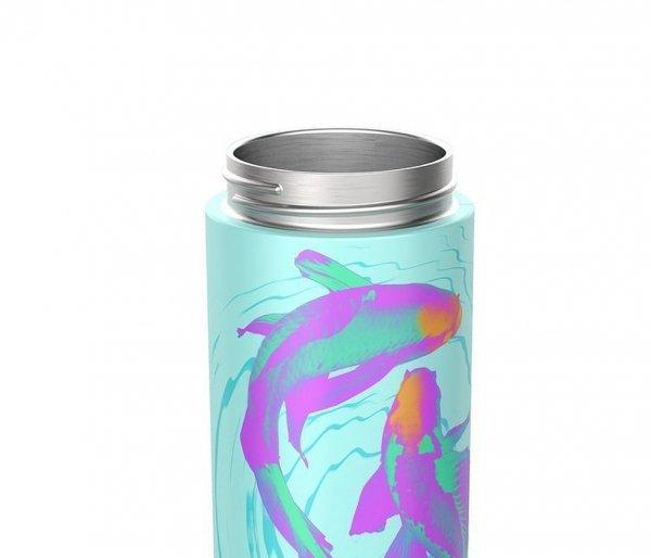 Butelka termiczna Kambukka Reno 500 ml Neon Koi niebieski