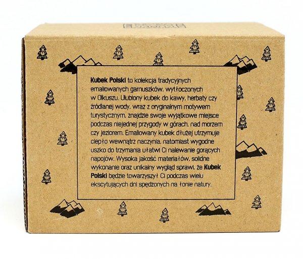 Kubek Polski kartonik ozdobny