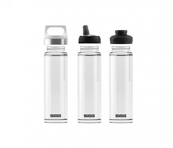 Termos szklany SIGG WMB z zaparzaczem HOT & COLD Glass 400 ml Aqua