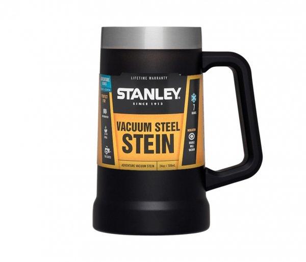 Kubek kufel termiczny STANLEY ADVENTURE VACUUM STEIN (czarny)