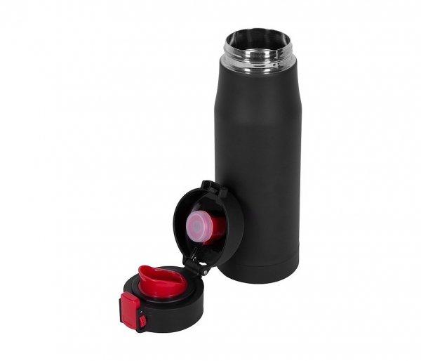 Kubek termiczny 600 ml T-READY2 (czarny/czerwony)