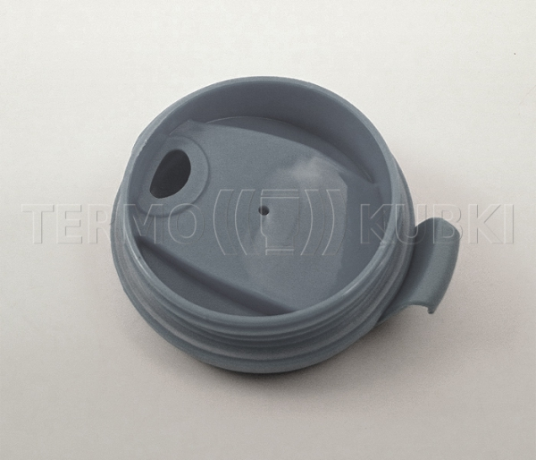 Kubek termiczny 350 ml LADY (biało-szary)
