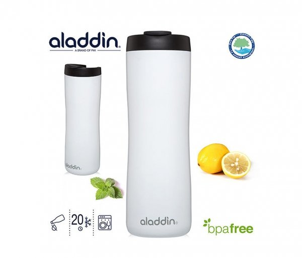Aladdin Leak-Lock Thermavac™ Stainless Steel Vacuum Mug 470 ml biały