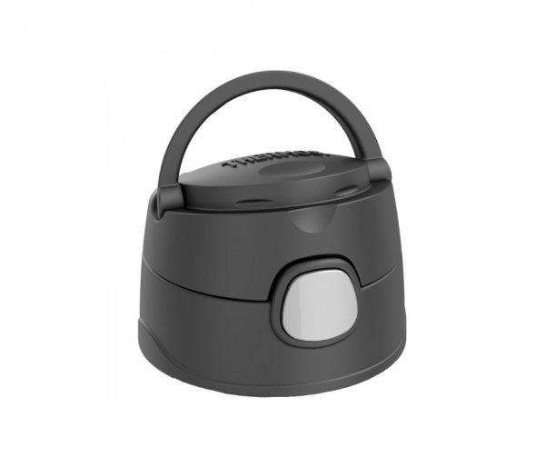 Kubek dla dzieci ze słomką Thermos FUNtainer 355 ml stalowy/czarny straż pożarna