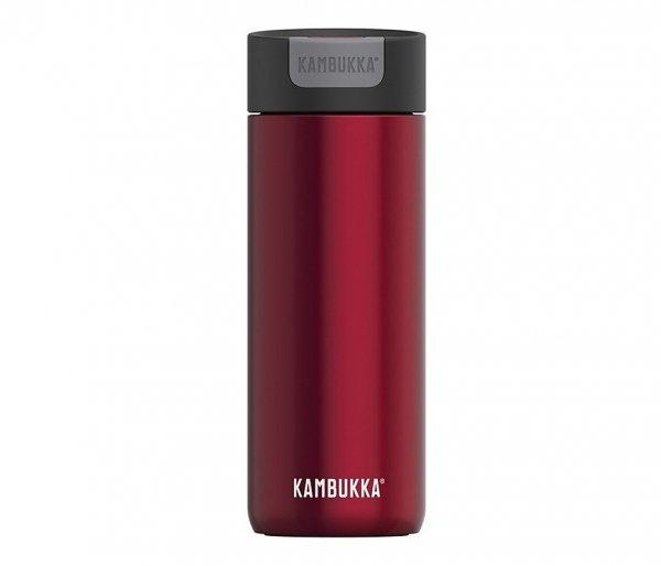 Kubek termiczny Kambukka Olympus 500 ml Ravenous Red czerwony