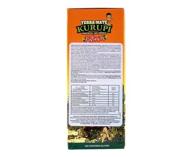 Yerba Mate Kurupi Katuava 500 g