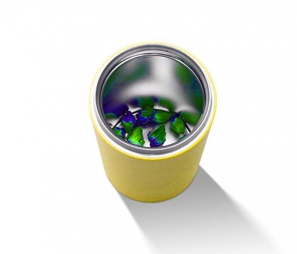 Kubek termiczny z zaparzaczem 350 ml PAO (lemon)