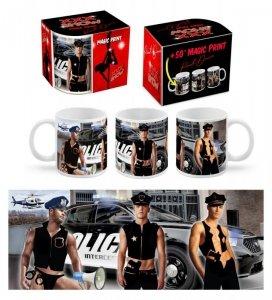 XXX SHOW - kubek Boss 300 ml - Policjanci
