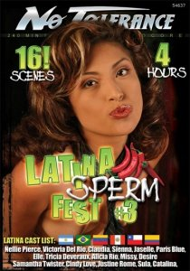 DVD-Latina Sperm Fest 3