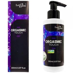 ORGASMIC TOUCH  Z FEROMONAMI SENSFEEL Orgazmowy żel do masażu i stymulacji 150mL