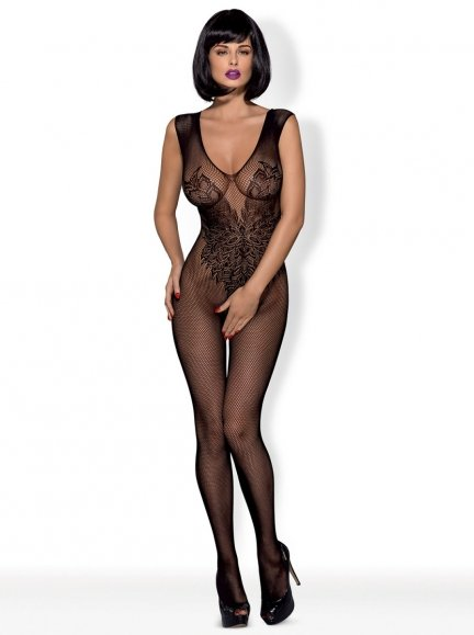 Bodystocking N112 kolor: czarny S/M/L