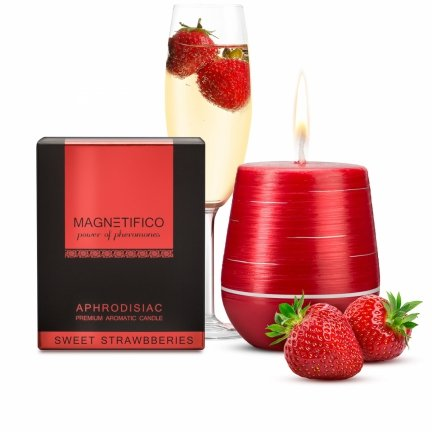 Aphrodisiac Candle Sweet Strawberries