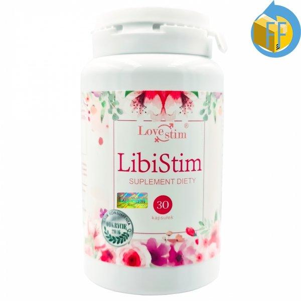 LIBISTIM 30kaps SUPLEMENT DLA KOBIET NA LIBIDO