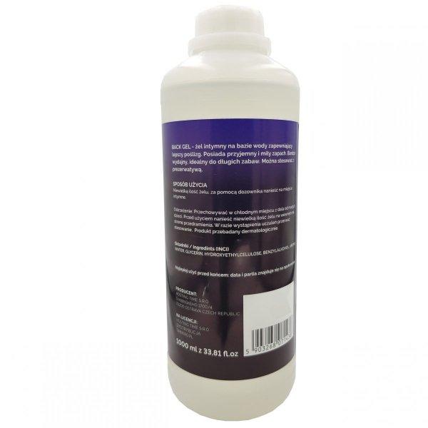 Żel analny na bazie wody 1000ml 1litr