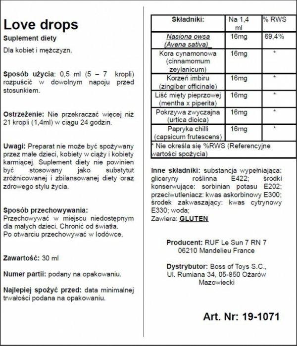 Supl.diety-LOVE DROPS 20 ML
