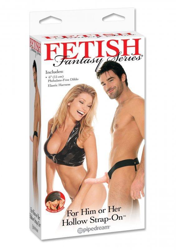 Proteza-FF HOLLOW STRAP ON - SKIN