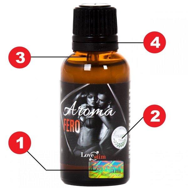 10x Aroma Fero 30ml Pierwsze feromony do seksu dla par