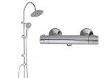 Zestaw prysznicowy Trend okrągły PG6 20OX + Bateria termostatyczna Termico BAT 04TD