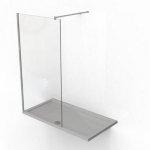Ścianka prysznicowa Invena Walk-in 80 cm