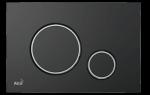 Przycisk czarny-mat / chrom-połysk Thin M778