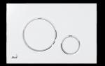 Przycisk biały / chrom-połysk Thin M770