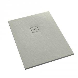 Brodzik prostokątny kompozytowy Schedline PROTOS Cement Stone 120x80