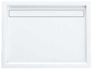 Brodzik prostokątny 80x120x6,5 Camparo Stabilsound Plus