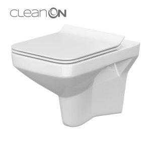 Miska bezrantowa WC COMO CLEAN ON z deską wolnoopadającą