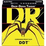 Struny DR Drop-Down Tuning (11-65) 7-str Medium Heavy elektryk