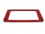 Ramka humbuckera płaska, skośna 4/5mm czerwona