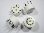 Podstawka GZC9-Y-3 9pin NOVAL do PCB ceramiczna