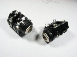 Gniazdo jack mono 6,3mm do obudowy