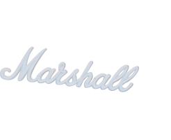 Logo Marshall 6 White