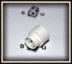 Nakładka, główka przełącznika - typ TELE White
