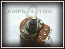 Potencjometr obrotowy logarytmiczny A500K- 24mm