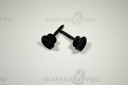 Zaczep do paska gitarowego BLACK SEP150-BK kpl. 2szt.