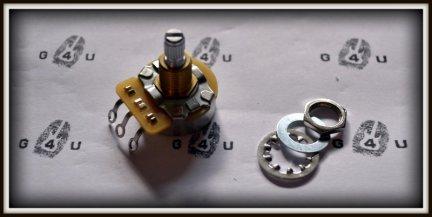Potencjometr gitarowy CTS  250KB - TON