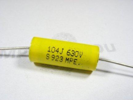 Kondensator foliowy 100nF 0,1uF 630V