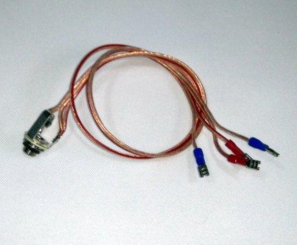 Przewód 2x głośnik - gniazdo jack RÓWNOLEGŁE