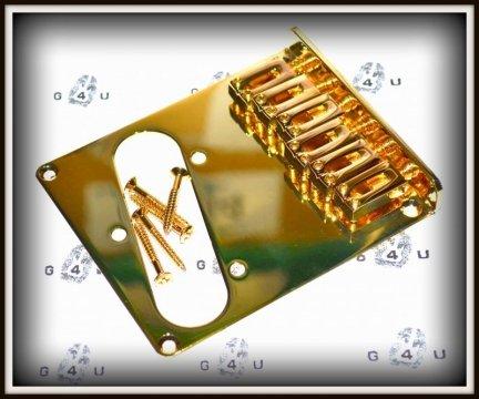 Mostek Stały Typ Telecaster GOLD Single