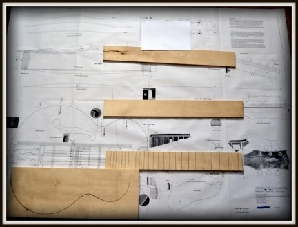 Plan budowy gitary GIBSON L-5 CES ARCHTOP