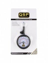 Kompaktowy manometr ciśnieniomierz analogowy QSP 0-4 Bar
