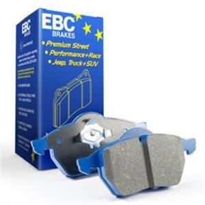 Klocki hamulcowe EBC BLUESTUFF tył SUBARU Impreza 2.0 R 2011-2012