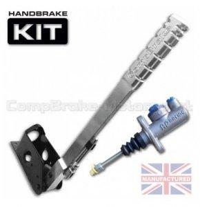 Hydrauliczny hamulec ręczny Compbrake Premier pionowy z pompą AP Racing  (450mm)
