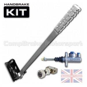 Hydrauliczny hamulec ręczny Compbrake Premier pionowy z pompą AP Racing i korektorem siły hamowania (600mm)