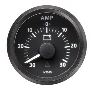 Amperomierz VDO Viewline (30amp.)