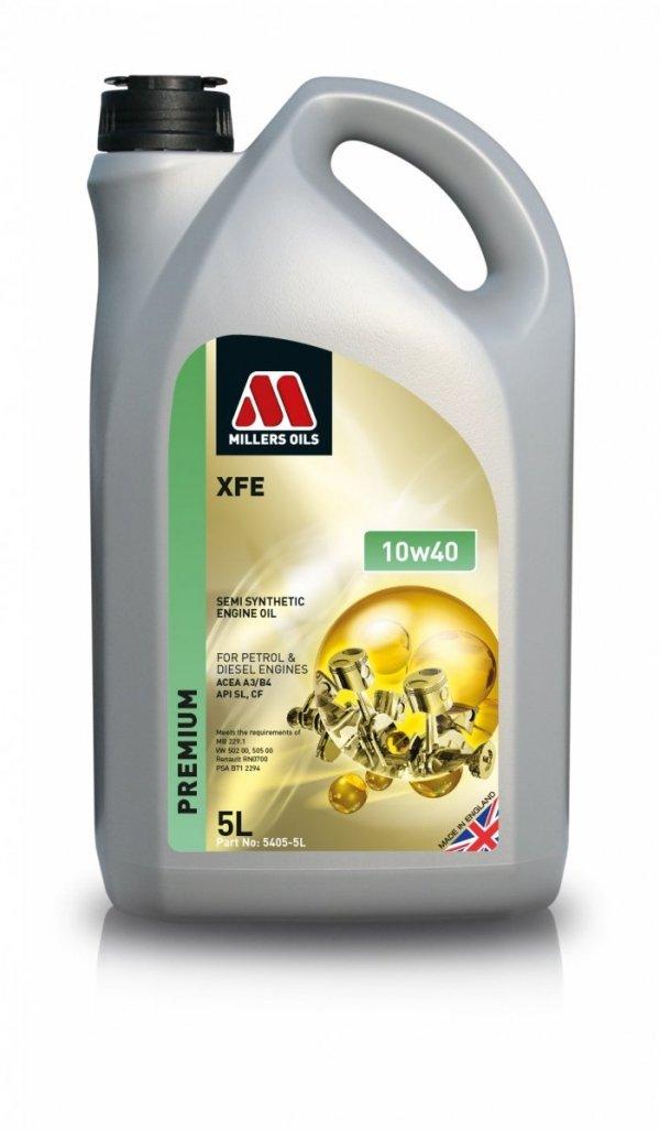 Olej Millers Oils XFE 10w40 5l