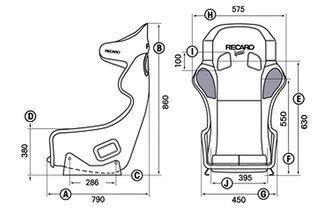 Fotel RECARO Pro Racer SPG HANS (FIA)